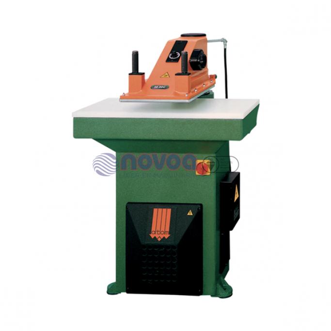 ATOM Troqueladoras manuales de la Serie SE. Máquina suajadora de brazo giratorio.