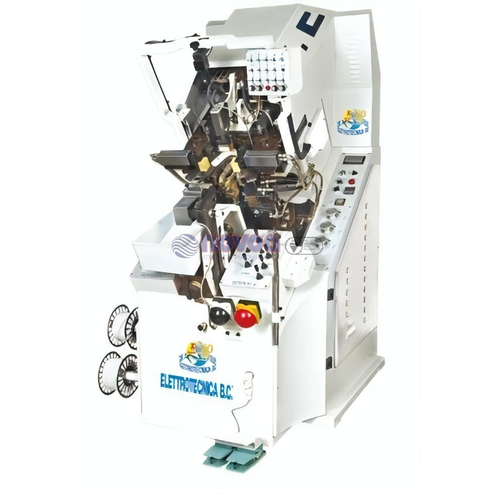 Elettrotecnica BC MOD. 710 RC. Máquina de montar puntas con TI full opcional.