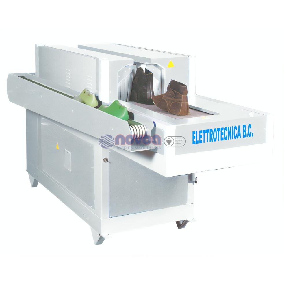 Elettrotecnica BC Mod. 267/T. Humedecedor de corte completo.