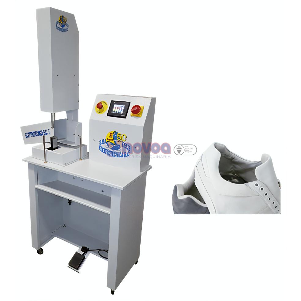 Elettrotecnica BC Mod. 606N. Máquina para voltear lenguas.