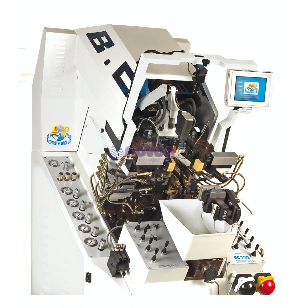 Elettrotecnica BC MOD. 710 RCP. Máquina de montar puntas con TI full opcional.