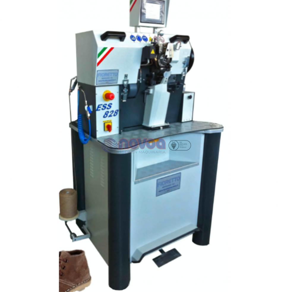 Fioretto ESS828 HT. Máquina de costura sticher.