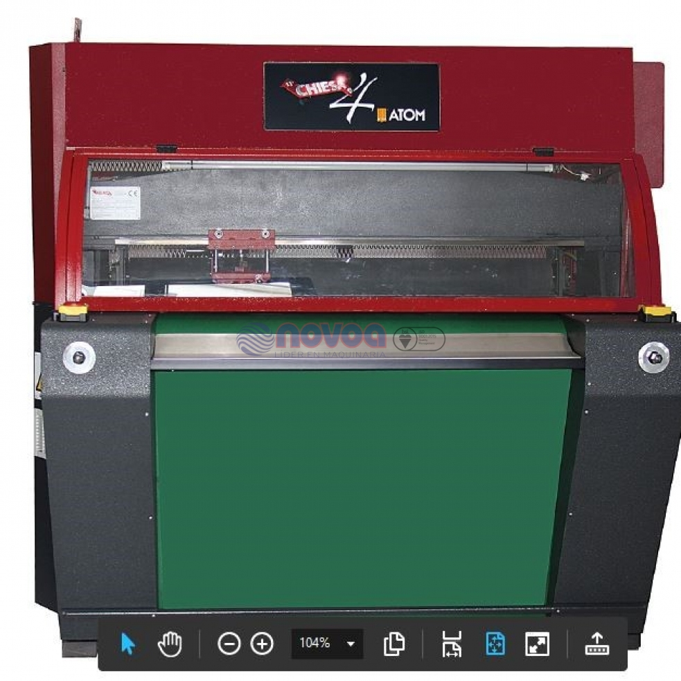 Chiesa Mod. Micro Small Speedy. Máquina de corte (cortadora/troqueladora).