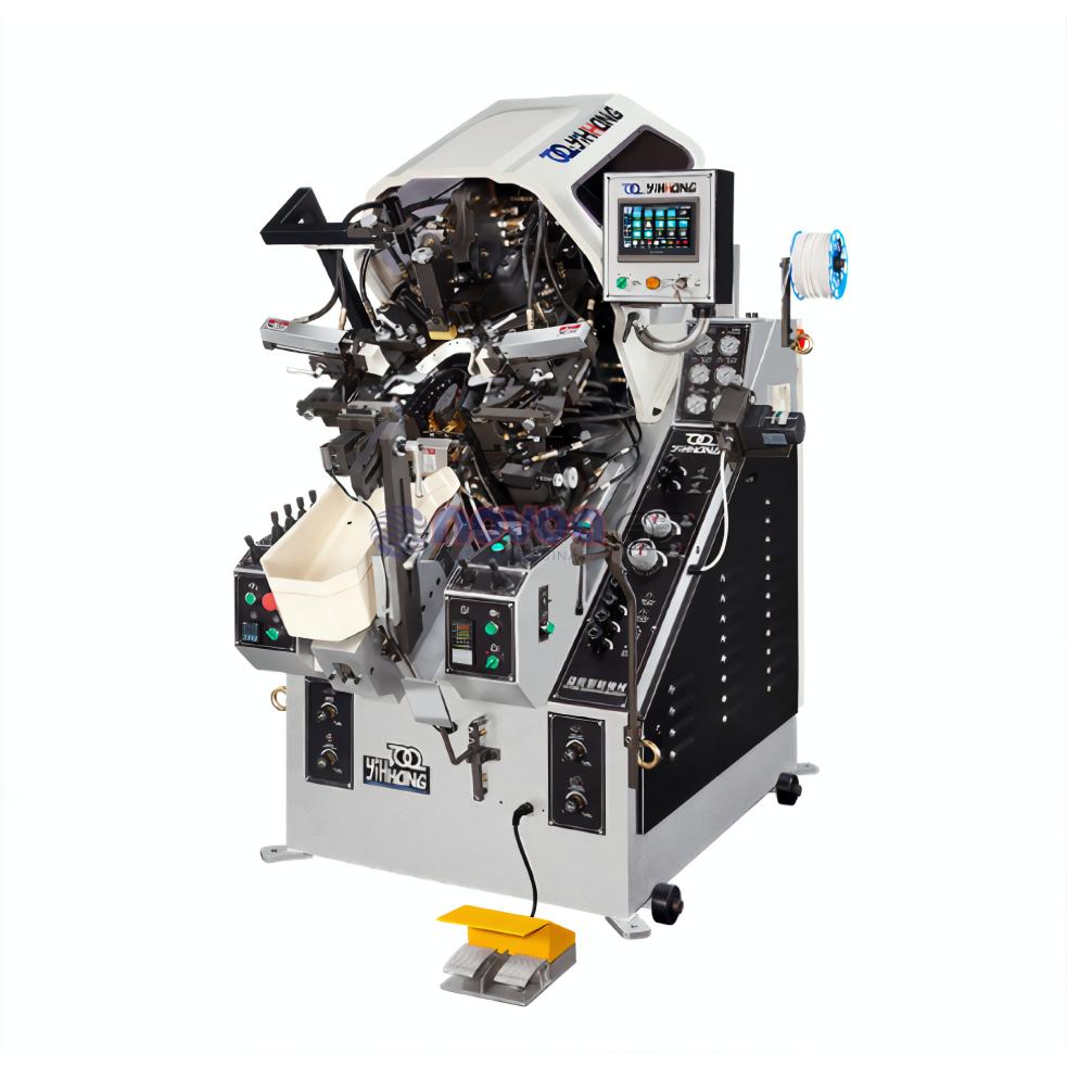 YIHHONG Mod. 878 MA+. Máquina de montar puntas computarizada con pantalla digital