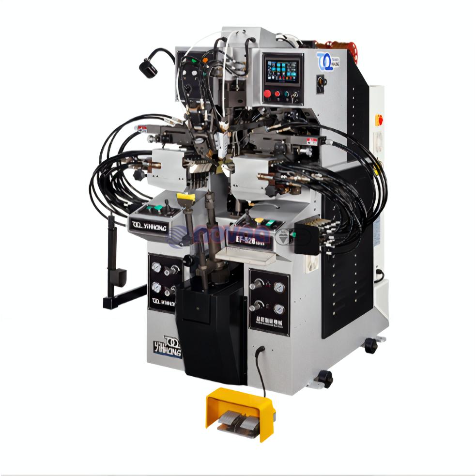 YIHHONG EF-526 MB – Máquina para montar talones y lados computarizada.