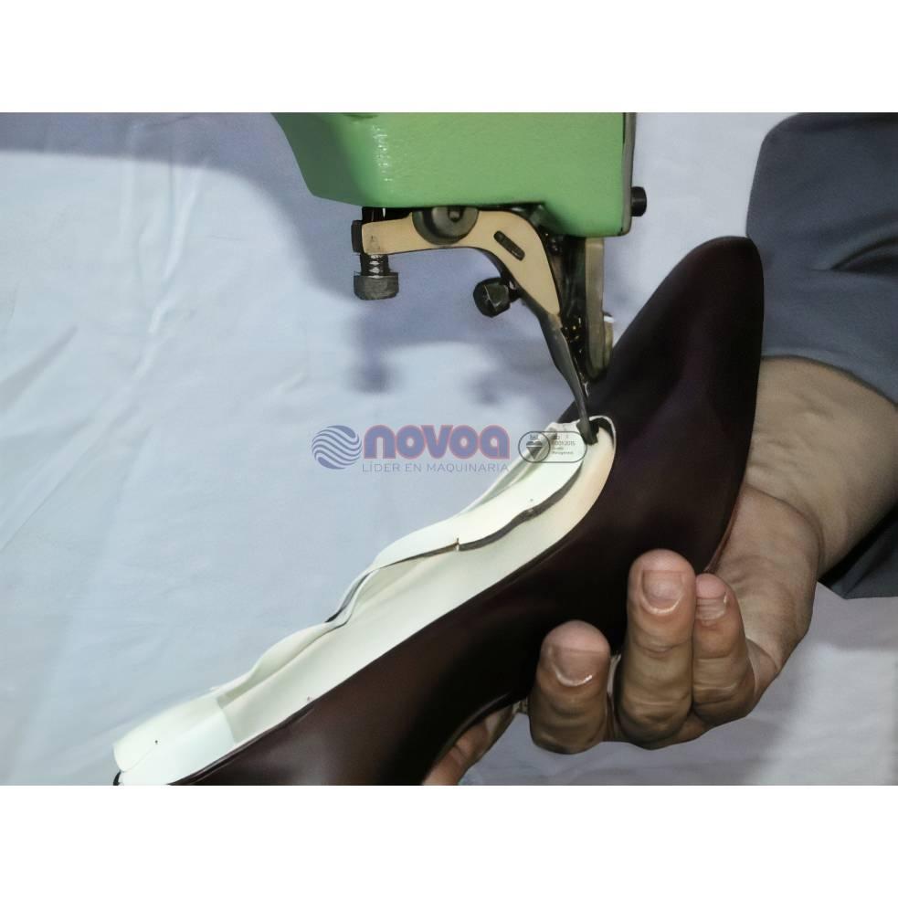 Colli GP5. Máquina de recortar forro de zapato terminado.