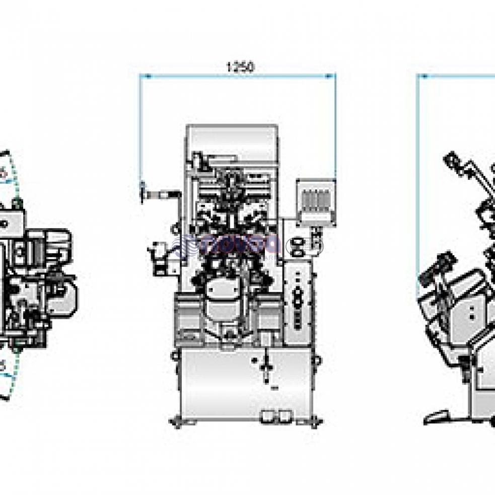 Yihhong 868 3MAD. Máquina de montar puntas.
