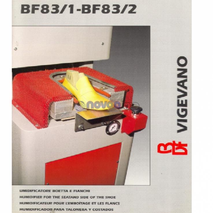 ATOM MB Mod. BF83/1. Humificador para talonera y costados