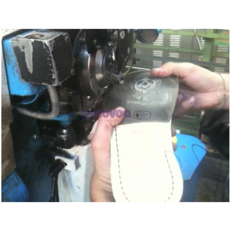 Fioretto 828HT/BR. Máquina de pespuntar Goodyear Welt