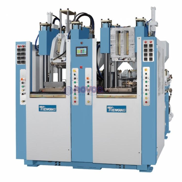 Tienkang - Máquina de moldeo por inyección de TR bicolor, 2 estaciones.