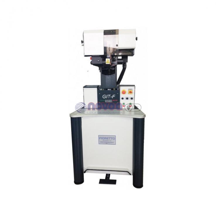Máquina para recortar excedente de montado WELT Fioretto Mod. GIT-F.