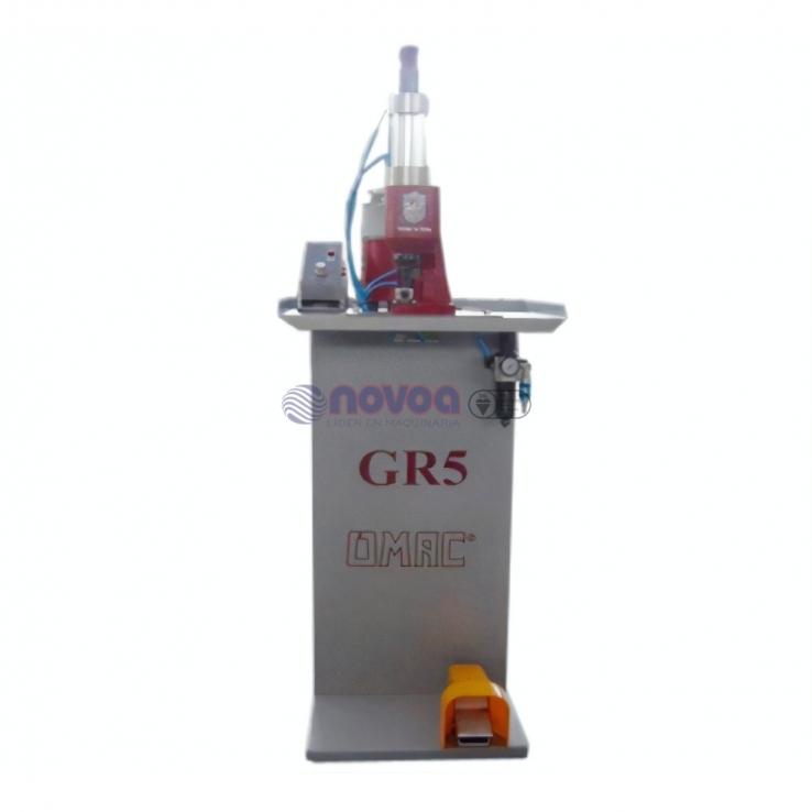 OMAC Mod. GR5. Grapadora neumática.