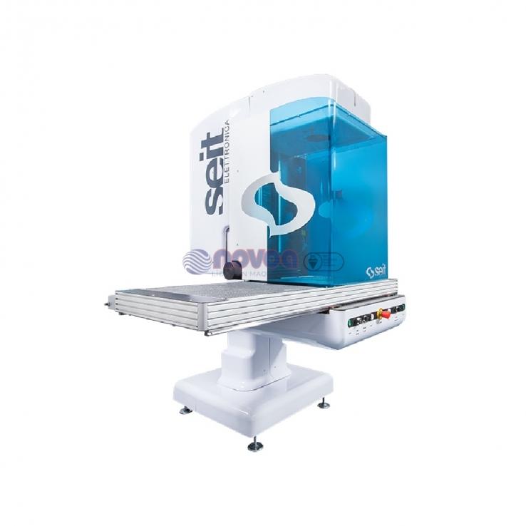 SEIT PERFORMA. Máquina cortadora mediante láser galvanométrico.