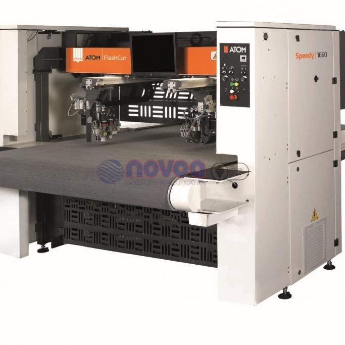 ATOM Flashcut Speedy 1660 y 2160. Sistema de corte por cuchilla oscilante de gran producción.
