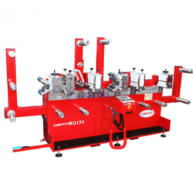 Guidolin Guirotto Serie rotativa. Mod GDRO 175.  Máquinas troqueladoras rotativas de alta velocidad.