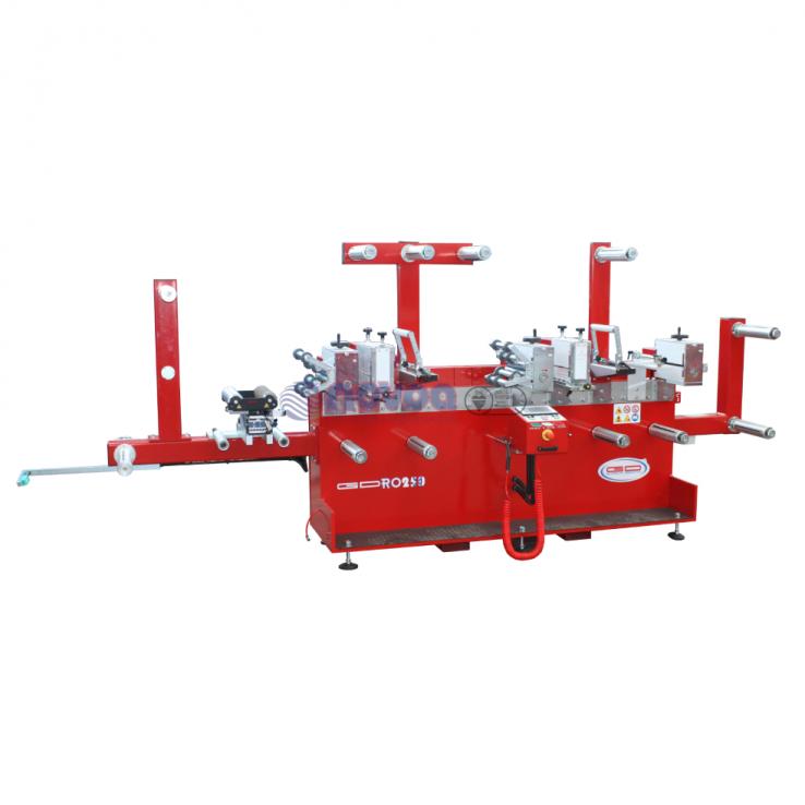 Guidolin Guirotto Serie rotativa. Mod. GDRO 250. Máquinas troqueladoras rotativas de alta velocidad.